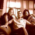 Vidisha Srivastava with her Brother Gaurav & sister Shanvi