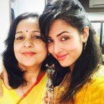 Vidisha Srivastava with her mother