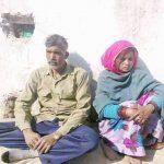 Vijendra Singh Rathore with his wife Leela