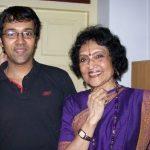 Vyjayanthimala with her son