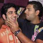 Zoravar Singh with his brother Yuvraj Singh