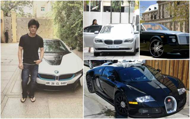 Shah Rukh Khan Cars Collection