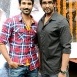 Aadhi Pinisetty with his brother Sathya Prabhas Pinisetty