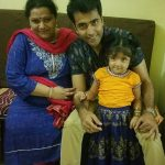 Abir Chatterjee wife and daughter