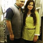 Alvira Khan with Ashley Rebello