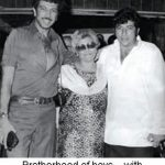 Amjad Khan With His Mother Qamar and Brother Imtiaz