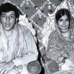 Amjad Khan With His Wife