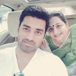 Ankush Hazra mother