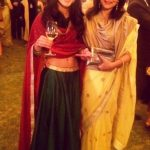 Anya Singh with her mother