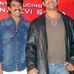 Arjun Sarja with his brother Kishore Sarja