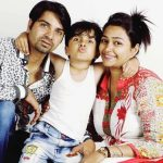 Aryan Prajapati with his parents