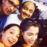 Asmita Sood with her family