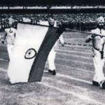 Balbir Singh with Indian Flag