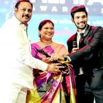 Bellamkonda Sreenivas with his parents