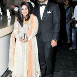 Brahmaji son Sanjay and daughter-in-law Indrakshi