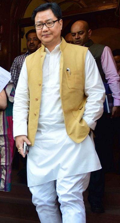 Cabinet Minister Kiren Rijiju