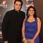 Chandrachur Singh with his wife