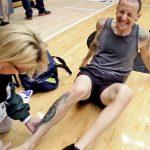 Chester Bennington injury