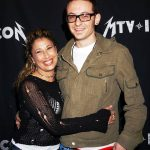 Chester Bennington with his Ex-wife Samantha Marie Olit