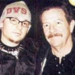 Chester Bennington with his father