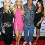 Corinne Olympios with her family