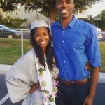 DeMario Jackson with his sister