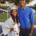 DeMario Jackson with his sister