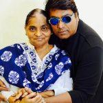 Ganesh Acharya with his mother