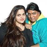 Ganesh Acharya with his wife