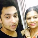 Harsh Beniwal with his mother