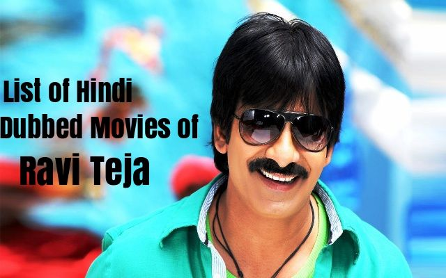 Hindi Dubbed Movie Of Ravi Teja