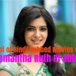 List of Hindi Dubbed Movies of Samantha Ruth Prabhu (13)