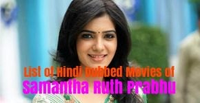 Hindi Dubbed Movies Of Samantha Ruth Prabhu