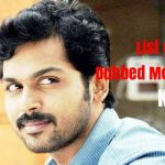 List of Hindi Dubbed Movies of Karthi (7)