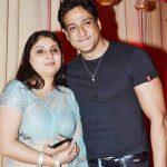 Inder Kumar with his wife Pallavi Sarraf