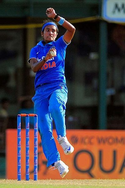 Indian Women Cricketer Shikha Pandey