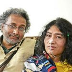 Desmond Coutinho With His Girlfriend Irom Sharmila