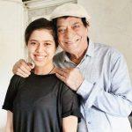 Jagdeep with daughter Muskan Jafery