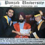 Jagjeet Sandhu degree