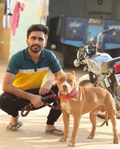 Jagjeet Sandhu loves dogs