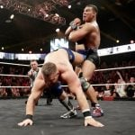 Jason Jordan Ankle Lock finisher