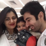 Jeet wife and daughter