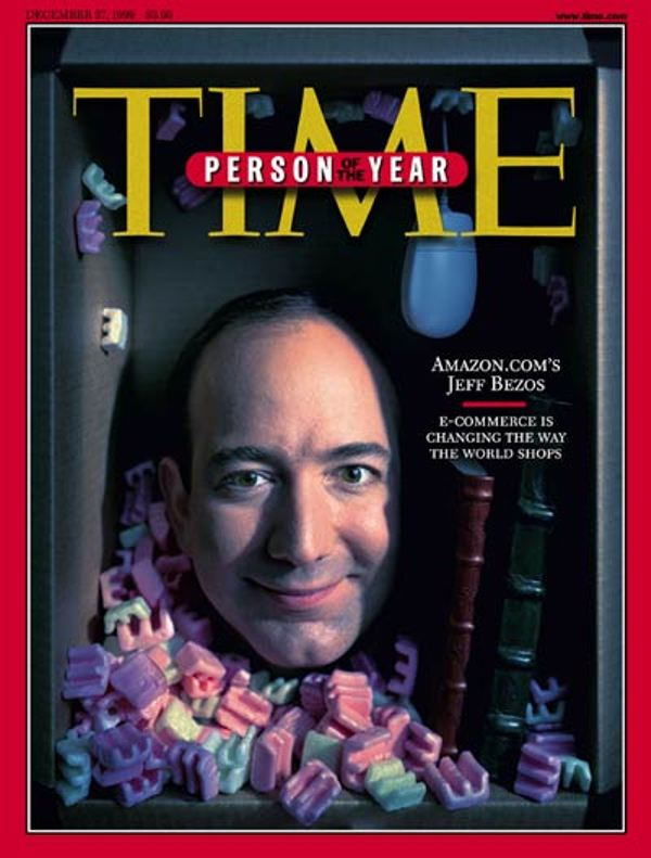 Jeff Bezos Time Person of the Year