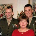 John F Kelly (Extreme Right) With His Wife, Two Sons and Daughter (Extreme Left)