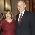 John F Kelly With His Wife