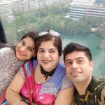 Jyotica Tangri mother and brother