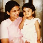 Kaneez Surka with her mother