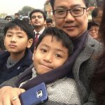 Kiren Rijiju with his sons