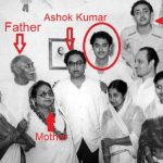 Ashok Kumar with his Family