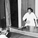 Kishore Kumar Playing Table Tennis